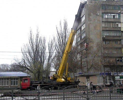 Сегодня на остановке «Морвокзал» демонтировали мост (ФОТО), фото-1
