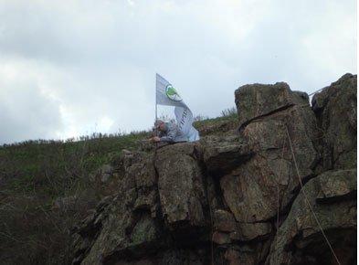 В минувшие выходные прошли соревнования по спортивному туризму и скалолазанию среди спортсменов города Мариуполя, фото-1