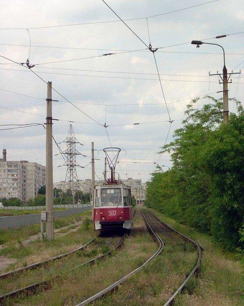 Мариупольский  трамвай на грани гибели, фото-1