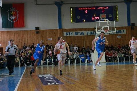 «Кривбассбаскет» и «Азовмаш» сыграли первый матч четвертьфинальной серии, фото-1