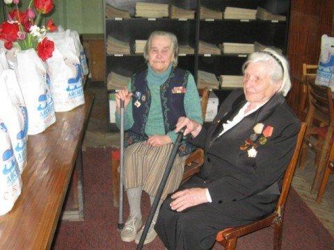 Мариупольские ветераны получили подарки от «Айсберга», фото-1