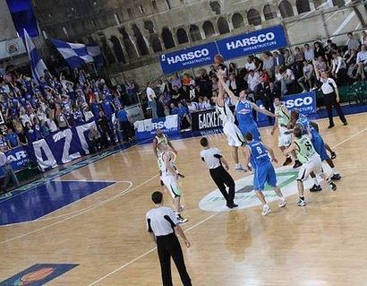 Начало игры - фото Алексея Наумова