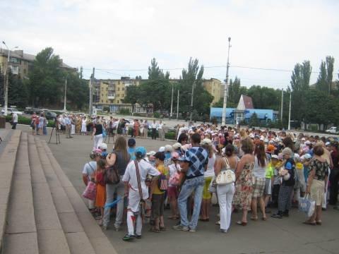 В Мариуполе состоялся митинг скорби (ФОТО), фото-1