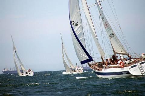 Яхтсмены из Мариуполя отправились покорять Черное море (ФОТО), фото-1