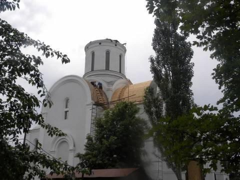 Золотой купол над Свято-Троицким храмом установят  через полторы недели (ФОТО), фото-1