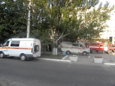 В Мариуполе горел Пенсионный фонд. Часть документов уничтожена (ФОТО), фото-1