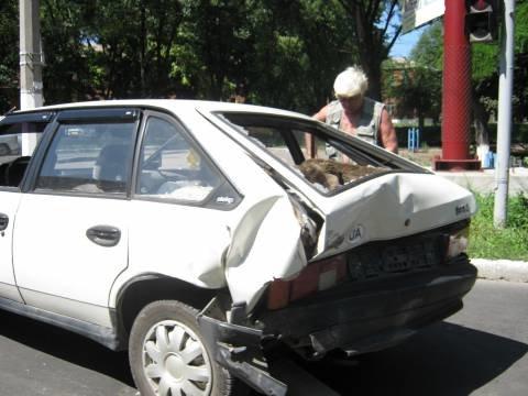 Мариупольских автолюбителей «косит» жара (ФОТО), фото-1