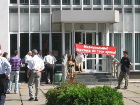 В Мариуполе выборы в местные советы начались сегодня (ФОТО), фото-1