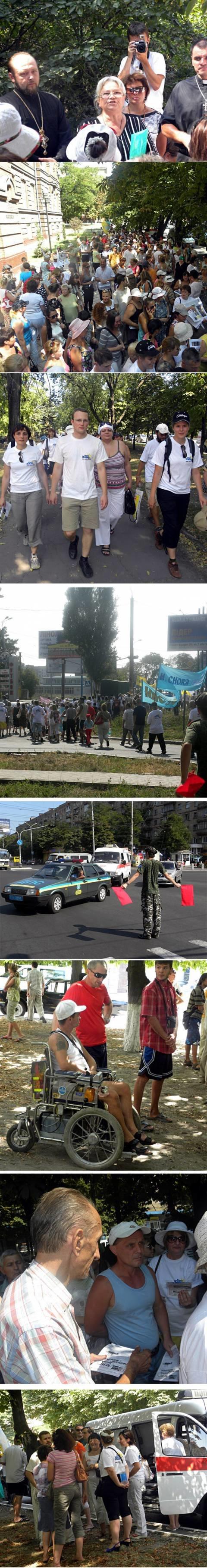 В Мариуполе участники «Марша жизни» прошли пешком более 3 километров ради примирения (ФОТО), фото-1
