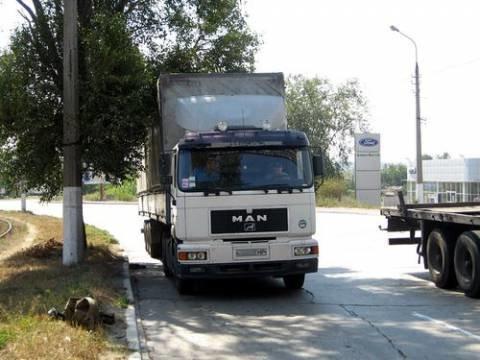 В Мариуполе задержали пьяного водителя фуры (фото), фото-1