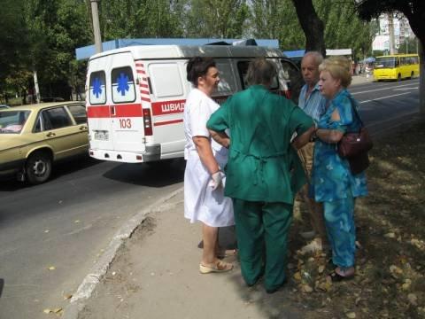 В  Мариуполе  на  проспекте Строителей не  разъехались две легковушки (ФОТО), фото-1