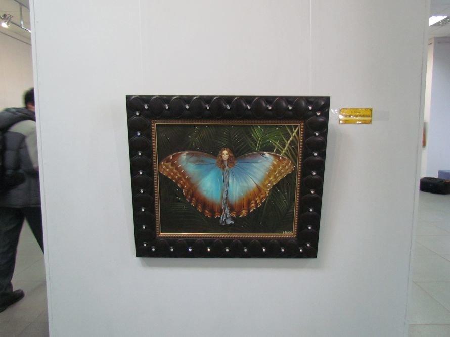 В Мариуполе презентовали выставку картин Никаса Сафронова (ФОТО), фото-9