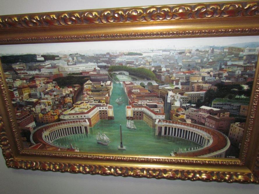В Мариуполе презентовали выставку картин Никаса Сафронова (ФОТО), фото-3