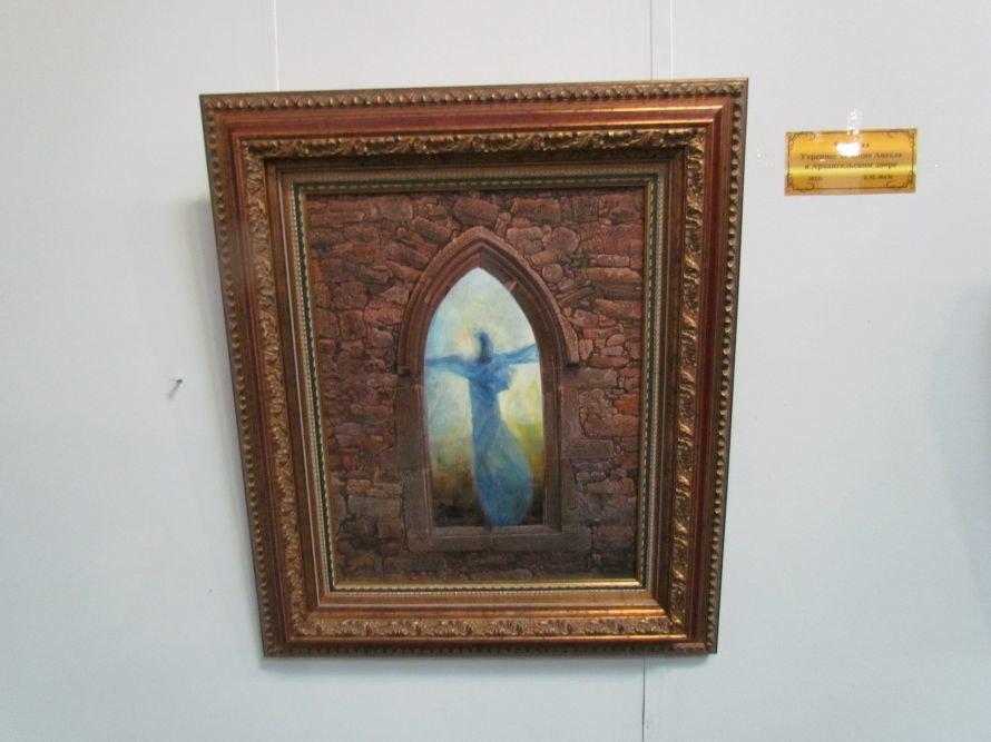 В Мариуполе презентовали выставку картин Никаса Сафронова (ФОТО), фото-8