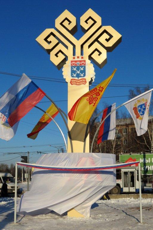 В Чебоксарах открылась стела «ЧЭАЗ» (ФОТО), фото-1
