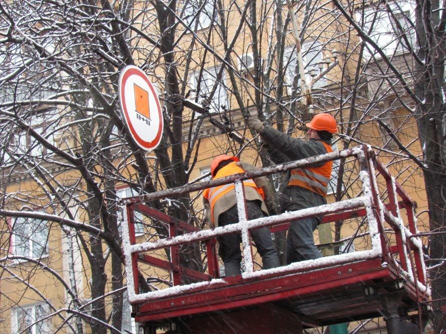 В Мариуполе спасатели обрезают ветви деревьев (Фотофакт), фото-4