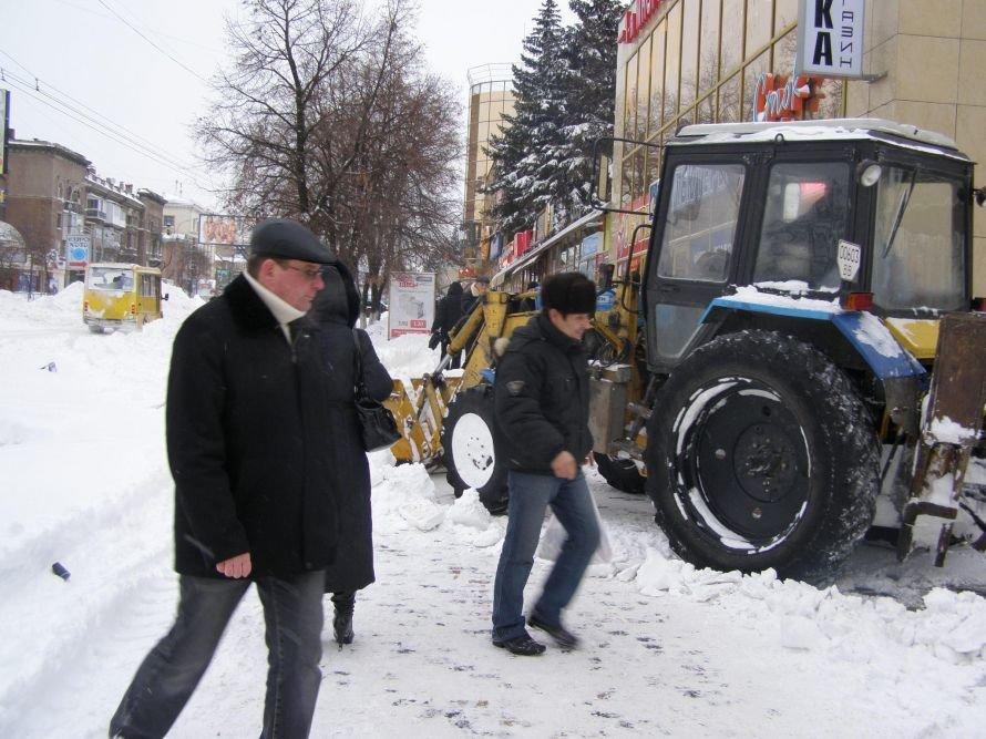 Луганск заносит снегом (ФОТО), фото-1
