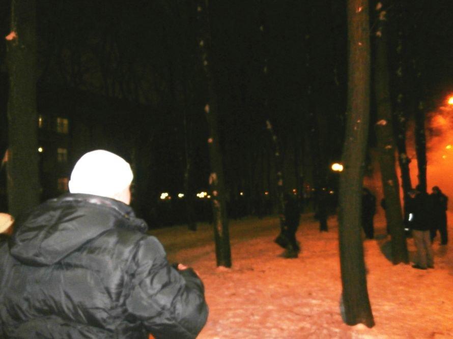 Милиционер: «Показали этим пид**сам как нужно себя вести». В Харькове произошла массовая драка между ультрас и правоохранителями (видео), фото-39