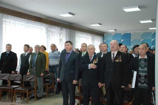 Сегодня в V-й горбольнице Кременчуга почтили участников ликвидации аварии на Чернобыльской АЭС, фото-1