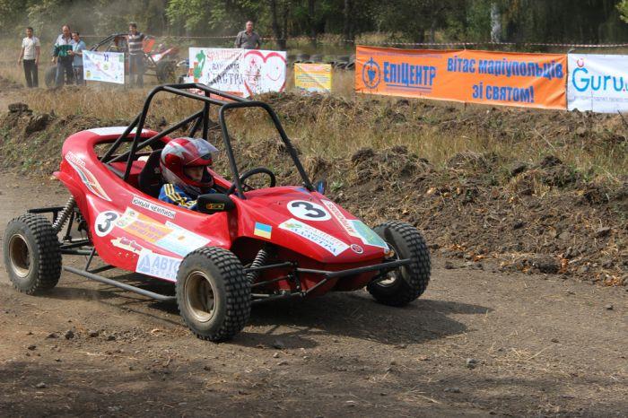В Мариуполе гонки на мини-багги сорвались из-за технических проблем, фото-1