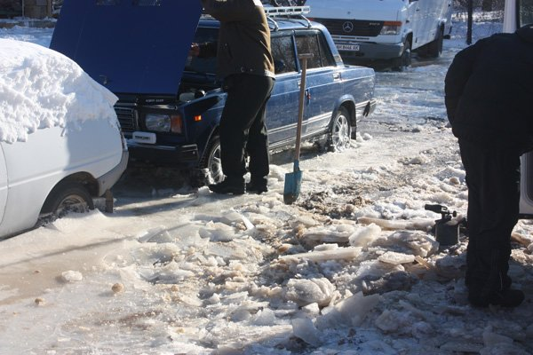 Авария на центральном водоводе: два жилых массива Горловки остались без воды (ДОБАВЛЕНО ФОТО, ВИДЕО), фото-5