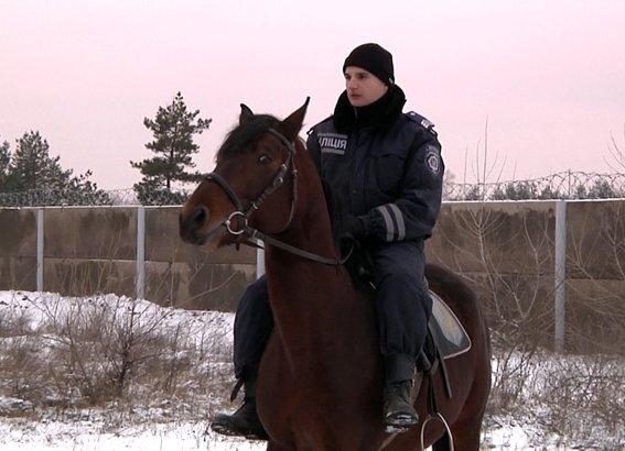 милиция на коне
