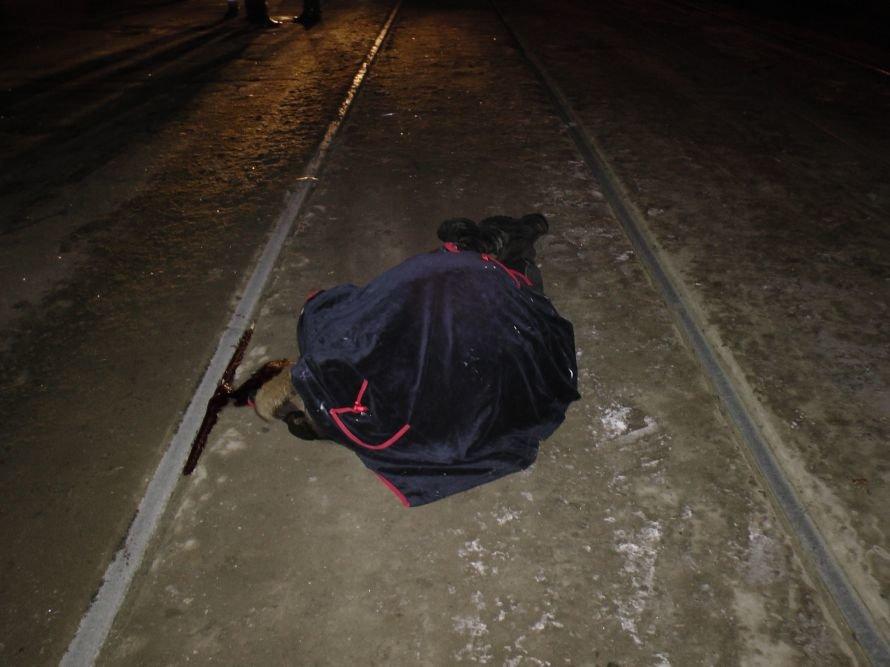 В Днепропетровске «водила» убил пешехода (ФОТО 18+), фото-1