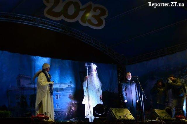 У Житомирі засяяла вогнями новорічна ялинка (ФОТО), фото-1
