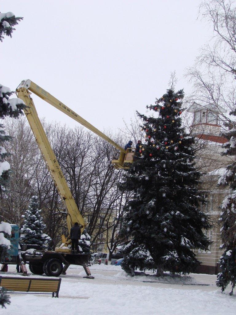 Артемовцам к Новому году подарят стильную елку, фото-1