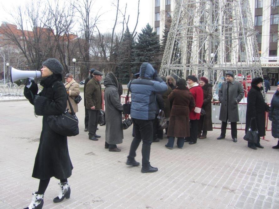 В Днепропетровске протестовали против реформирования существующей системы здравоохранения (ФОТОРЕПОРТАЖ), фото-1