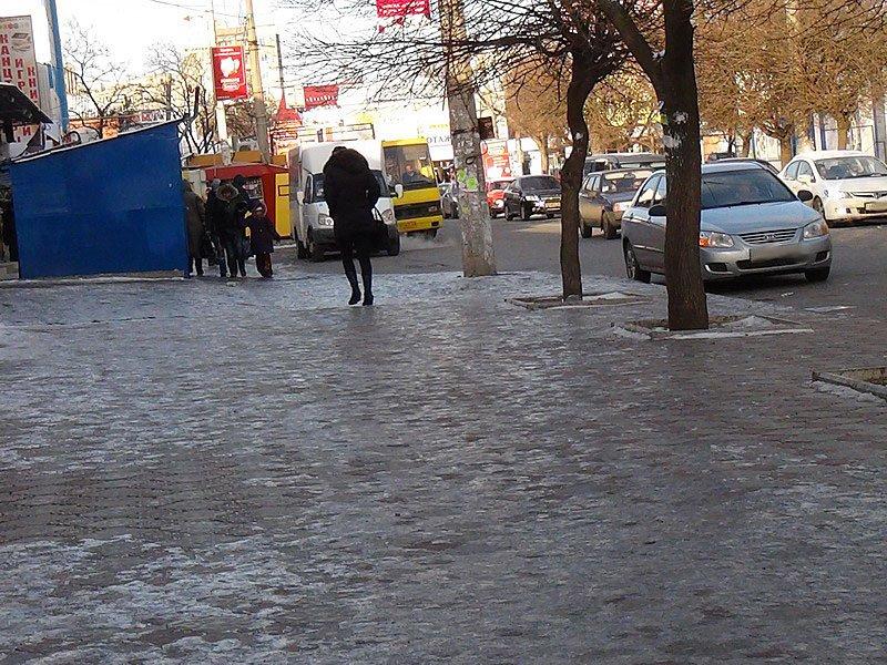 Лед на дороге 1