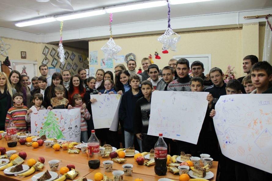 Днепропетровским сиротам подарили фрукты и конфеты (ФОТО), фото-1