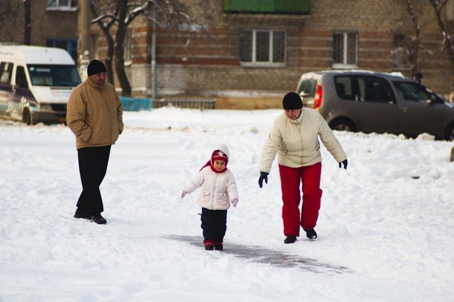 Днепропетровск пережил «конец света» и большой снегопад, горожане наслаждаются снежными днями (Фоторепортаж), фото-1