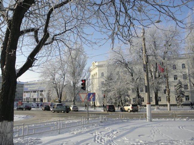 снег херсон 2