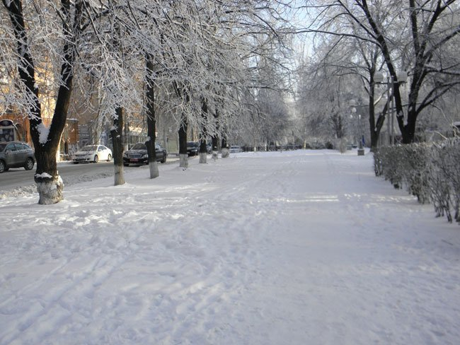снег херсон12