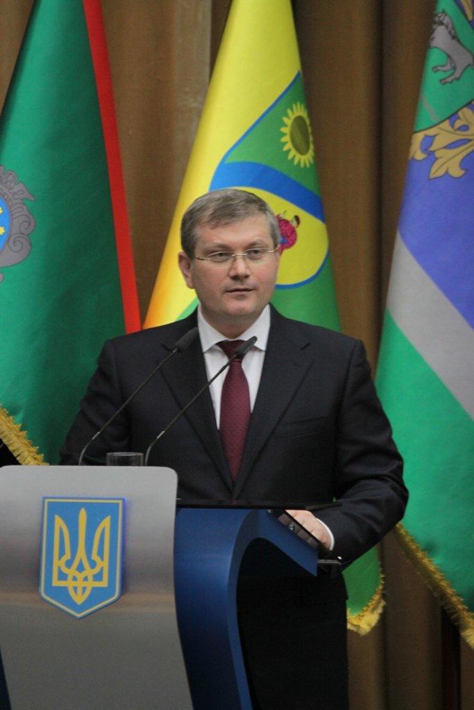Экс-губернатор Вилкул на прощание приехал в Днепропетровск рассказать, что год грядущий нам готовит, фото-1