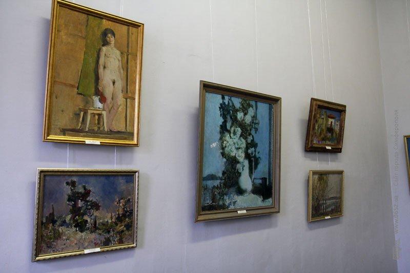 В Симферополе показали неизвестные картины бывшего директора Крымского худучилища Ивана Шевченко (ФОТО), фото-1