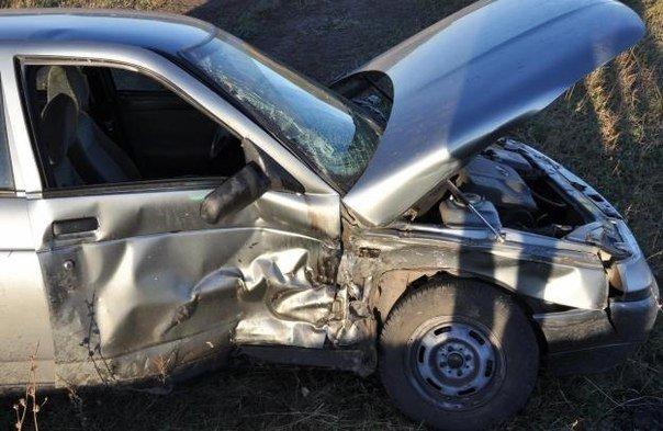 В Кременчугском районе перевернулся автомобиль, фото-1