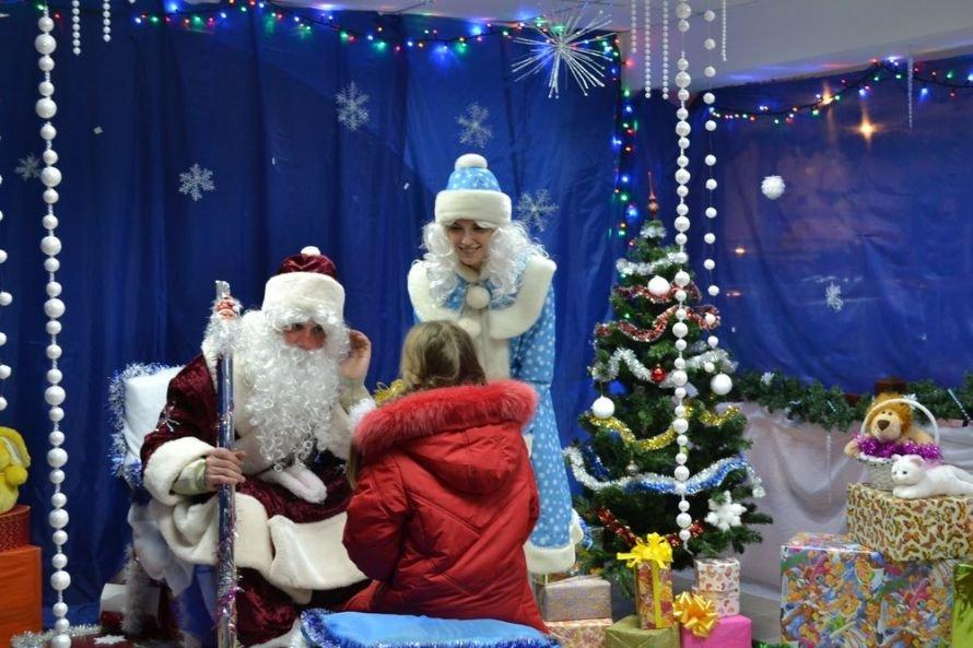 В Мариуполе Дед Мороз встретился с детьми, фото-1