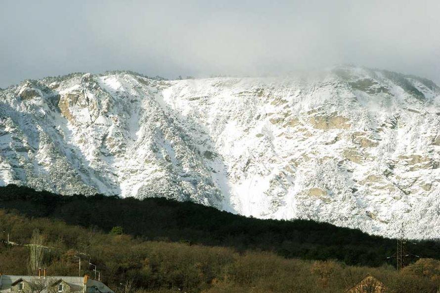 К Рождеству склоны Ай-Петри впервые за эту зиму засыпало снегом (ФОТО), фото-1