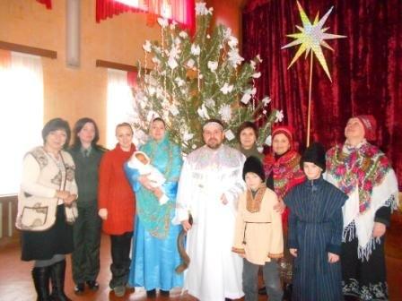 В Кременчугской исправительной колонии отметили Рождество Христово, фото-1