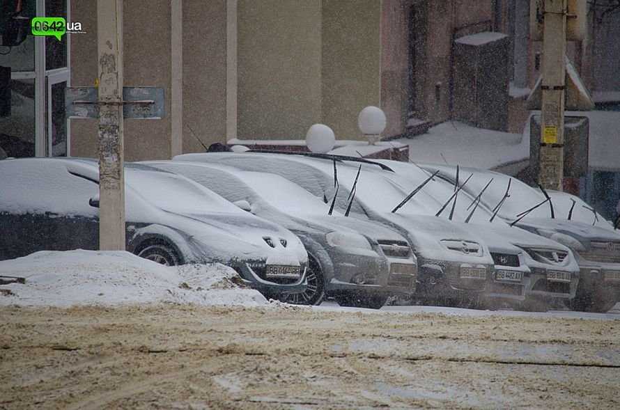Луганск заносит снегом (ФОТО), фото-5