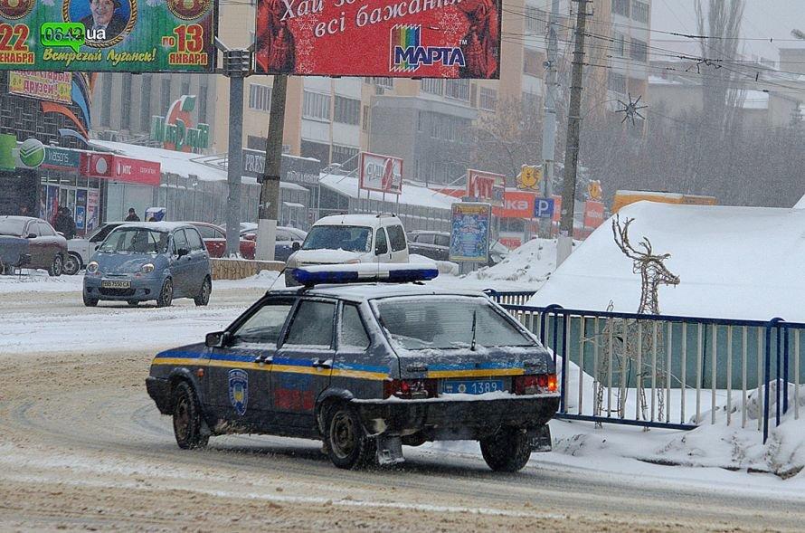 Луганск заносит снегом (ФОТО), фото-6