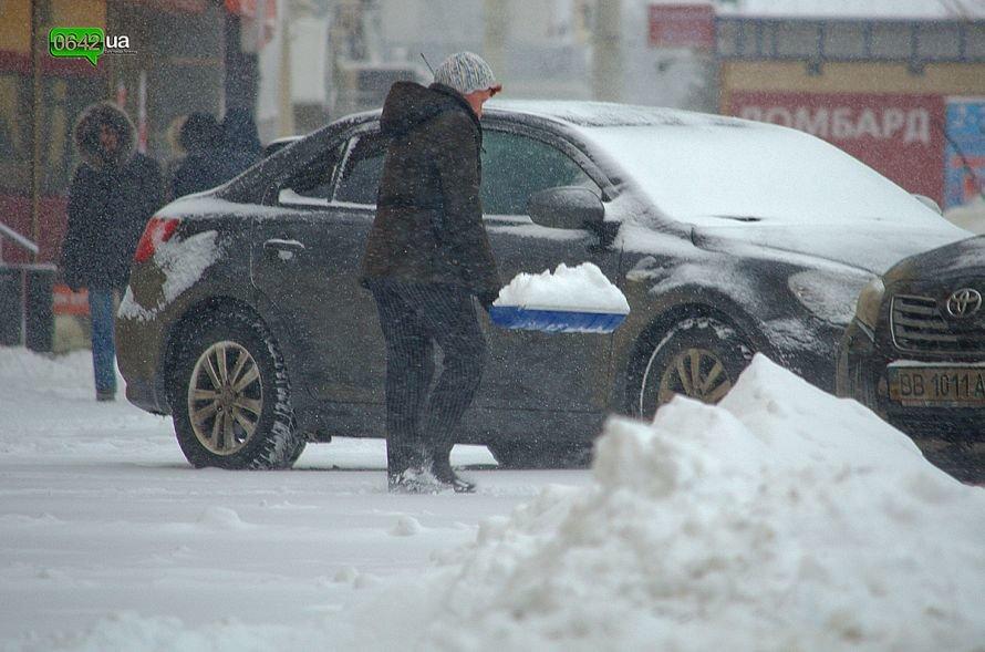 Луганск заносит снегом (ФОТО), фото-8