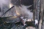 На Полтавщине сгорел магазин стройматериалов (фото) - фото 2