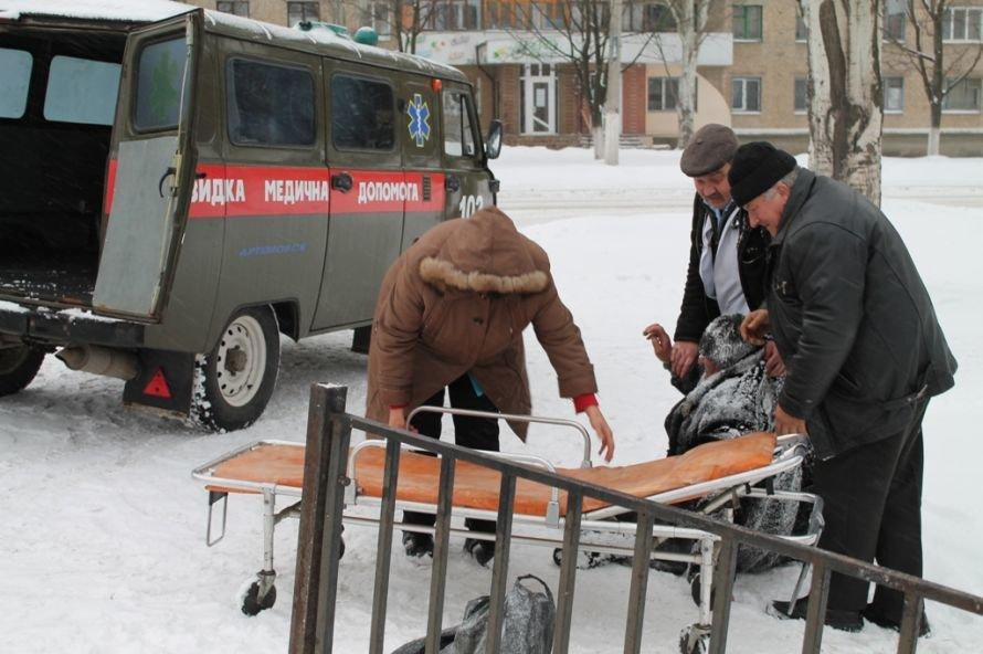 Литр самогона для согрева: как артемовского бомжа спасали от мороза, фото-5