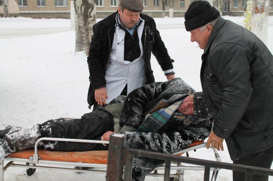 Литр самогона для согрева: как артемовского бомжа спасали от мороза, фото-6