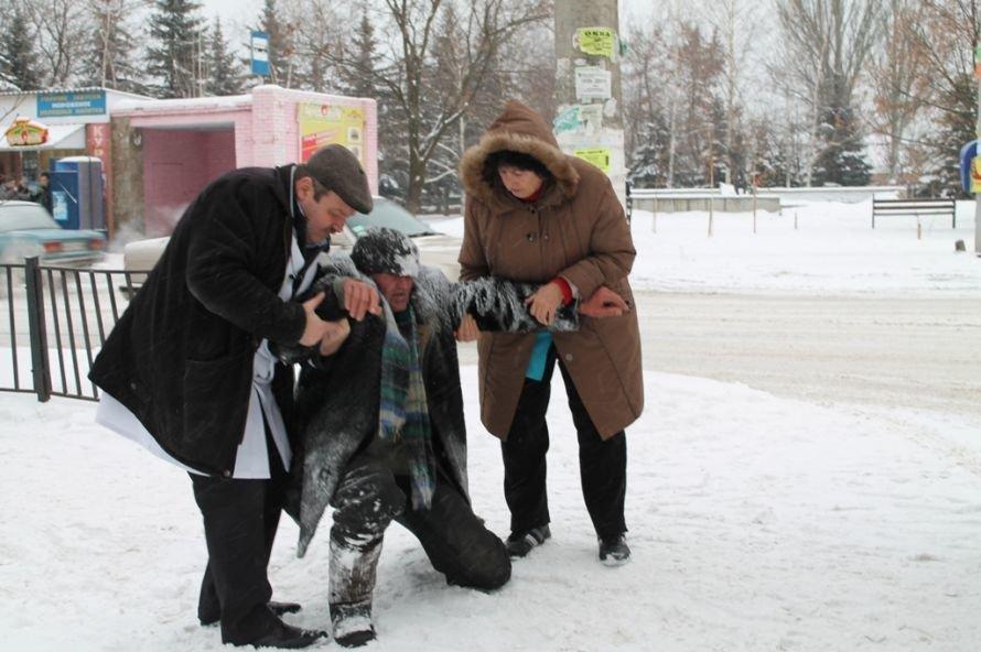 Литр самогона для согрева: как артемовского бомжа спасали от мороза, фото-4
