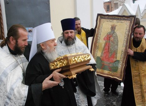 мощи св. Владимира