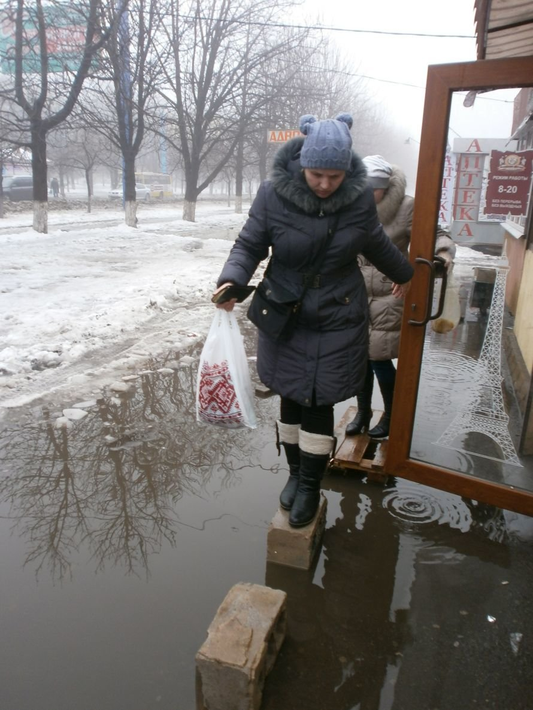 Мариуполь утопает в лужах (ФОТО), фото-7
